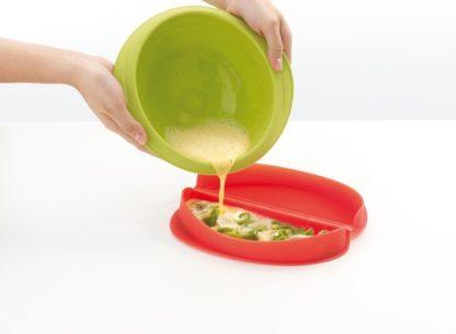 Lékué Cuoci omelette