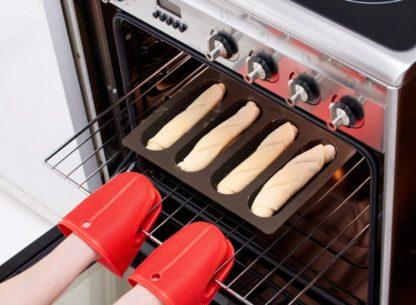 Lékué Stampo 4 baguettes