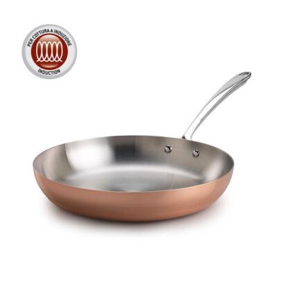 Pentole Agnelli Copper 3 Padella 1 manico