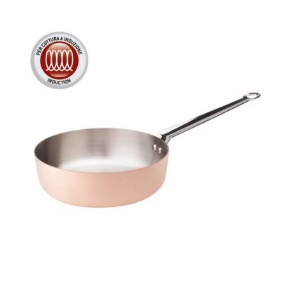 Pentole Agnelli Copper 3 Casseruola conica 1 manico
