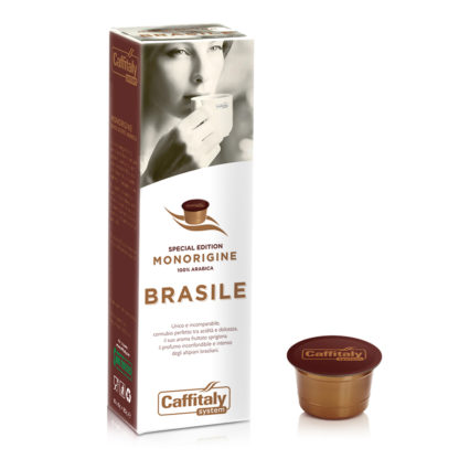 Caffitaly Capsule Monorigine Brasile