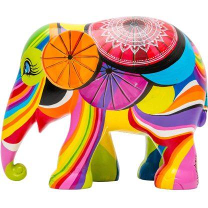 Elephant Parade elefantino Colours of Chiang Mai