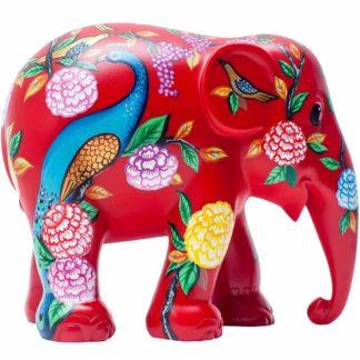 Elephant Parade elefantino Peacock Garden