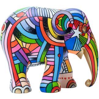 Elephant Parade elefantino Peace, Love & Music