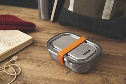 Black+Blum Lunch box large acciaio