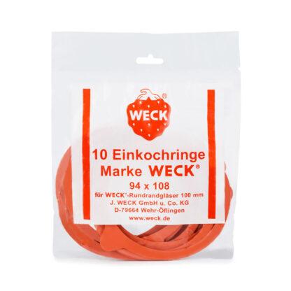 Weck Confezione 10 guarnizioni 94X108 RR100