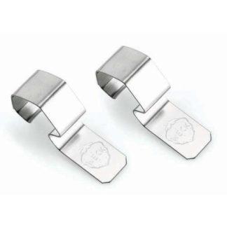 Weck confezione 8 clip metalliche