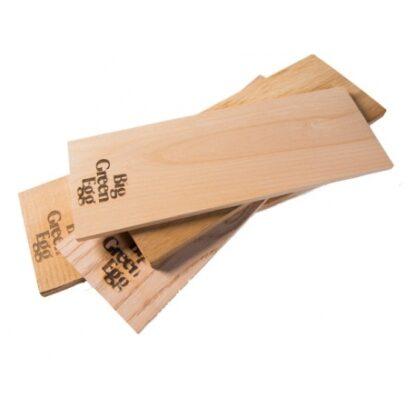 BGE Base in legno di ontano per affumicatura 2pz