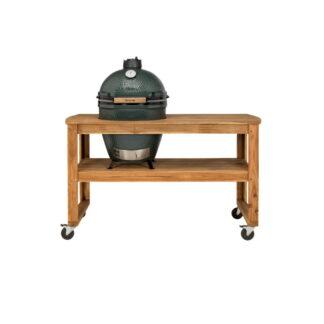 BGE Tavolo in acacia con rupte per barbecue XL