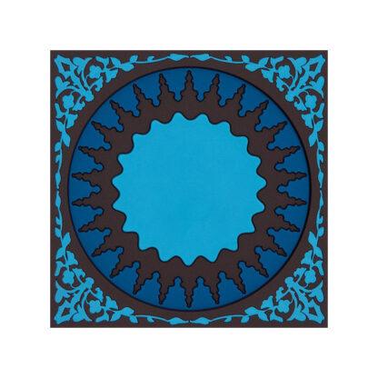Images d'Orient Sottobottiglia Mosaic Blue