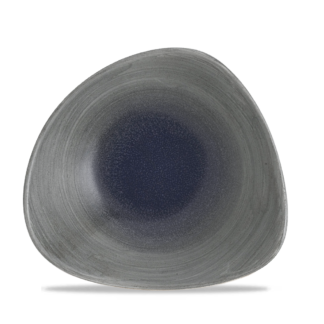 Churchill Stonecast Aqueous Fjord Triangle Bowl 23,5 cm