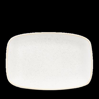 Churchill Stonecast Barley White Chefs' Oblong Plate No. 8 30x19,9 cm