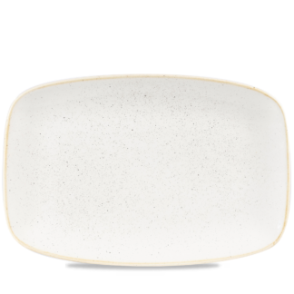 Churchill Stonecast Barley White Chefs' Oblong Plate  No. 9 34,4x23,4 cm
