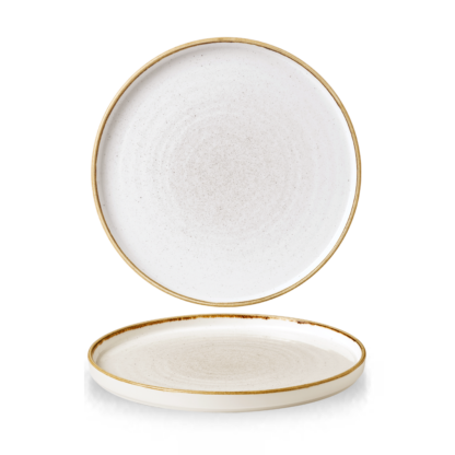 Churchill Stonecast Barley White Chefs' Walled Plate 26 cm