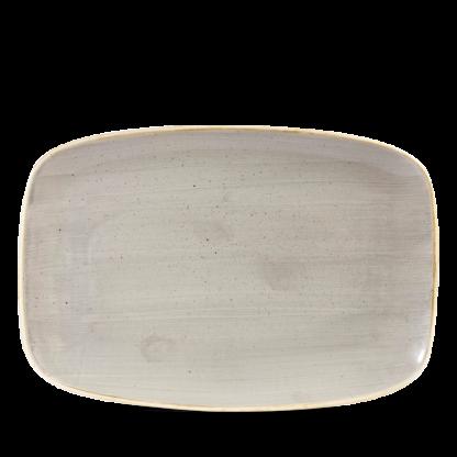 Churchill Stonecast Peppercorn Grey Chefs' Oblong Plate No. 8 30x19,9 cm