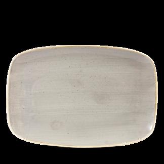 Churchill Stonecast Peppercorn Grey Chefs' Oblong Plate  No. 9 34,4x23,4 cm
