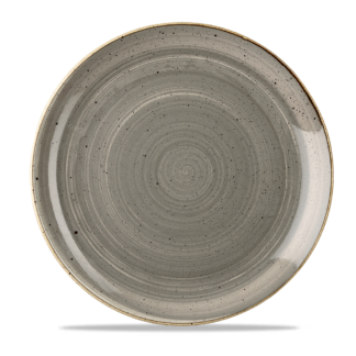 Churchill Stonecast Peppercorn Grey Evolve Coupe Plate 28,8 cm
