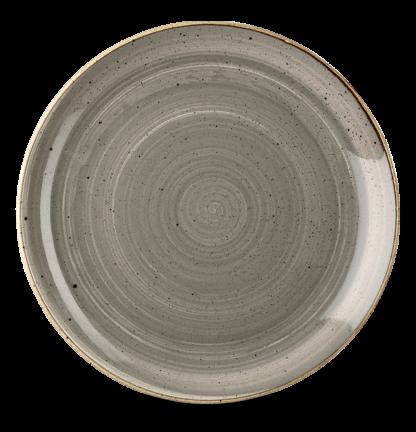 Churchill Stonecast Peppercorn Grey Evolve Coupe Plate 32,4 cm