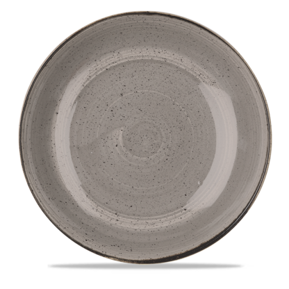 Churchill Stonecast Peppercorn Grey Large Coupe Bowl 31 cm