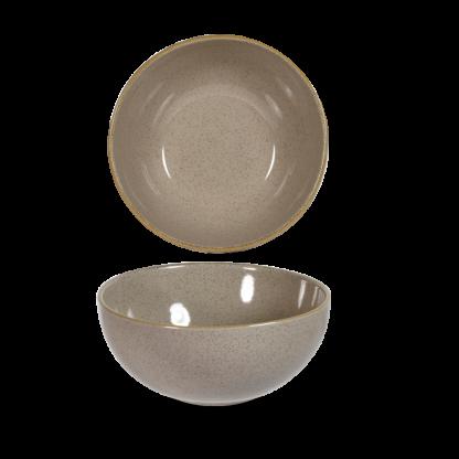 Churchill Stonecast Peppercorn Grey Noodle Bowl 18,3 cm