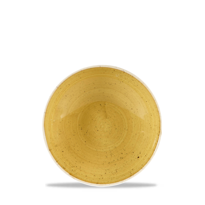 Churchill Stonecast Mustard Yellow Evolve Coupe Bowl 18,2 cm