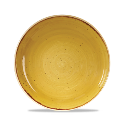 Churchill Stonecast Mustard Yellow Evolve Coupe Bowl 24,8 cm