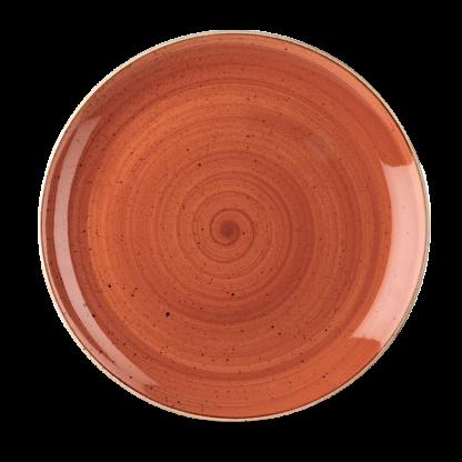 Churchill Stonecast Spiced Orange Evolve Coupe Plate 28,8 cm