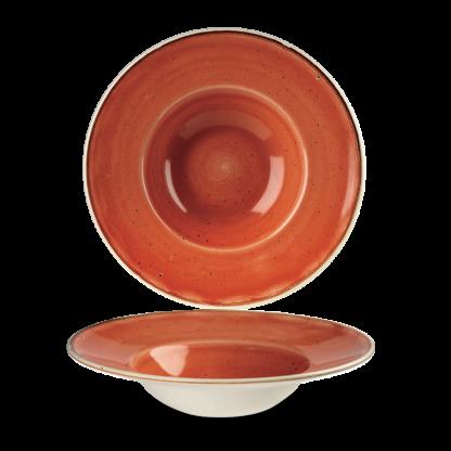 Churchill Stonecast Spiced Orange Wide Rim Bowl 23,88 cm