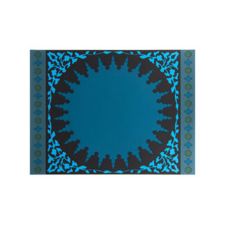 Images d'Orient Set due tovagliette Mosaic Blue