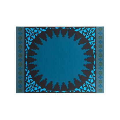 Images d'Orient Set due tovagliette Mosaic Blue