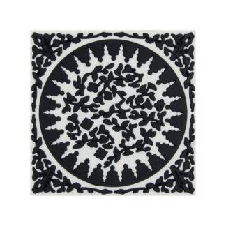 Images d'Orient Sottopentola Mosaic Black & White