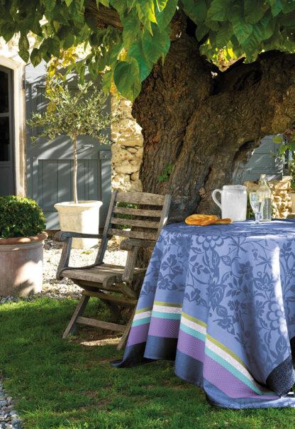 Le Jacquard Français Provence Tovaglia antimacchia bleu lavande