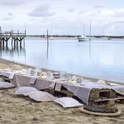 Le Jacquard Français Slow Life Tovaglia sable