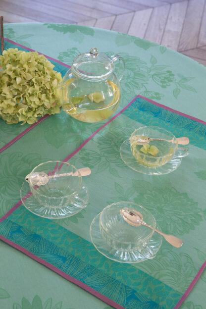 Le Jacquard Français Parfums de Bagatelle Set Americano hortensia