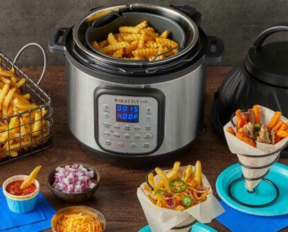 Instant Pot Duo Crisp + Air Fryer 8 lt.