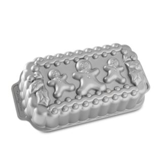 Nordic Ware Stampo Gingerbread Family Loaf - NW 89848