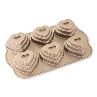 Nordic Ware Stampo Tiered Heart Cakelet - NW 90937