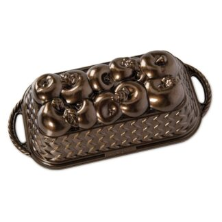 Nordic Ware Stampo Apple Basket Loaf - NW 92548