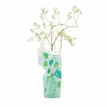 Tiny Miracles Paper vase cover Jungle lives