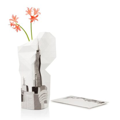 Tiny Miracles Paper vase cover New York