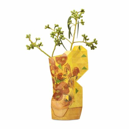 Tiny Miracles Paper vase cover Sunflowers