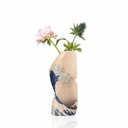 Tiny Miracles Paper vase cover The wave