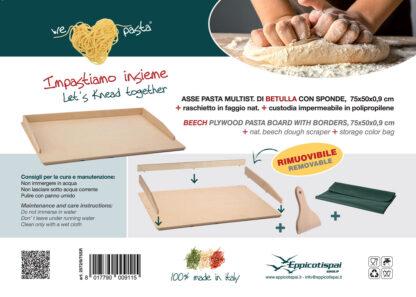 Eppicotispai We Love Pasta asse pasta