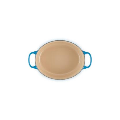 Le Creuset Cocotte ovale Evo - Blu marsiglia