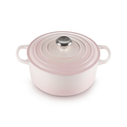 Le Creuset Cocotte rotonda Evo - Shell pink