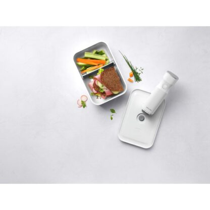 Zwilling Fresh & Save Lunchbox sottovuoto in plastica bianca M
