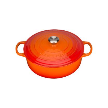 Le Creuset Tegame Risotto Evolution 30 cm - Arancio