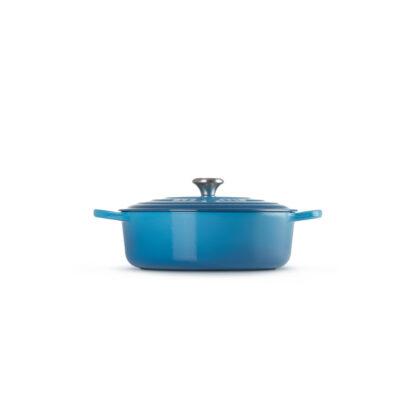 Le Creuset Tegame Risotto Evolution 30 cm - Blu marsiglia