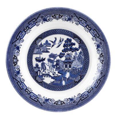 Churchill Blue Willow Pasta dish 28,5 cm