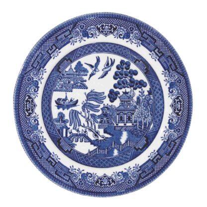 Churchill Blue Willow Plate 17 cm